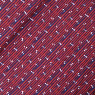 Baumwolljersey - AHOI 2.0 - Meerliebe - blau/rot