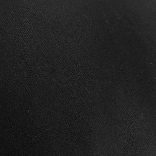Viskosejersey - schwer - uni - schwarz