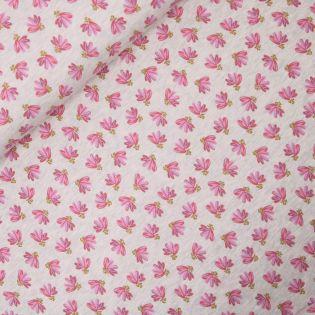 Sweatshirt - Blütenpracht - Glitzer