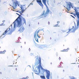 Dekostoff - Half Panama - Anna & Elsa - Frozen