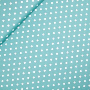 Baumwolle - Dots - teal