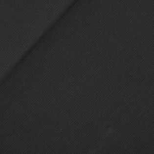 Strickpiqué - schwarz