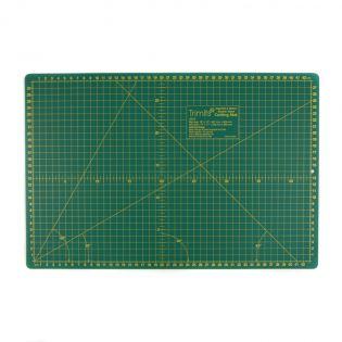 Schneidematte - 45x30 cm/inch - grün