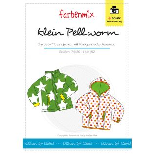 Schnittmuster - Farbenmix - klein Pellworm - Sweat / Fleecejacke - Kids
