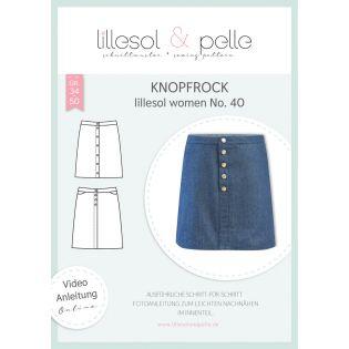 Schnittmuster - Lillesol & Pelle - Women - Knopfrock - No.40