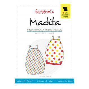 Schnittmuster - Madita - Trägerkleid für Sweat oder Webware
