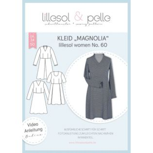 Schnittmuster - Lillesol & Pelle - Women - Kleid Magnolia - No.60