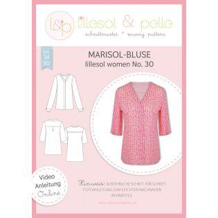 Schnittmuster - Lillesol & Pelle - Women - Bluse Marisol - No.30
