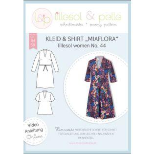 Schnittmuster - Lillesol & Pelle - Women - Kleid&Shirt Miaflora - No.44