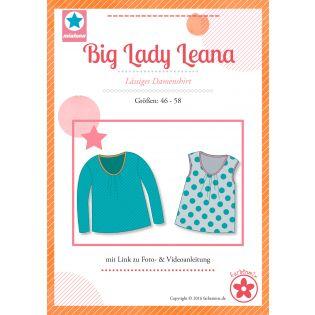 Schnittmuster - Farbenmix - Big Lady Leana - Lässiges Plus-Size-Damenshirt