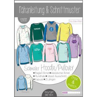 Schnittmuster - Kids - ki-ba-doo - Mix & Match - Hoodie/Pullover