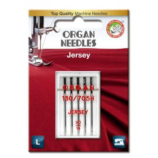 Organ Needles - 5 Nähmaschinennadeln - Jersey 90/14