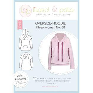 Schnittmuster - Lillesol & Pelle - Women - Oversize-Hoodie - No.58