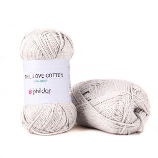 Phildar - Phil Love Cotton - perle - grau