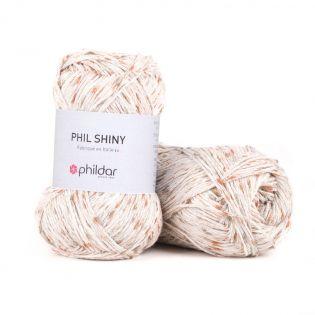 Phildar - Phil Shiny - ecru - beige