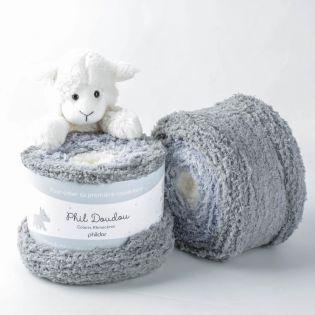 Phildar - Phil Doudou - rhinoceros - beige-grau