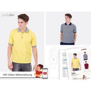 """Schnittmuster - pattydoo - Poloshirt """"Jake"""""""