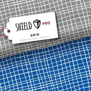 Albstoffe - SHIELD PRO - Grid - grau
