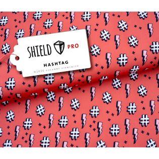 Albstoffe - SHIELD PRO - Hashtag - koralle