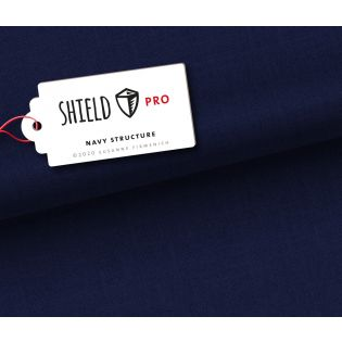 Albstoffe - SHIELD PRO Structure - navy