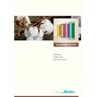 Silk-Finish Cotton - Farbkarte - 250 Originalmuster