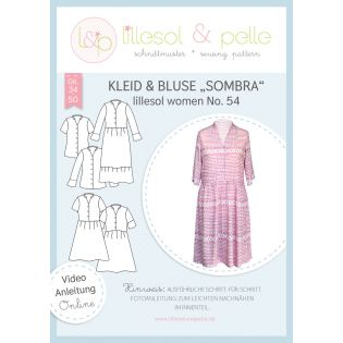 Schnittmuster - Lillesol & Pelle - Women - Kleid&Bluse Sombra - No.54