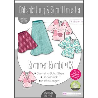 Schnittmuster - ki-ba-doo - Mix & Match - Damen - Sommer-Kombi #3