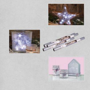 Sterneneffektfolie - 100 x 33 cm