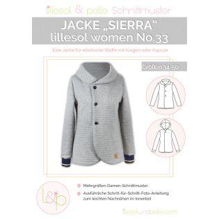 Schnittmuster - Lillesol & Pelle - Woman No. 33 - Jacke Sierra