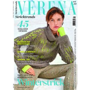 Zeitschrift - Verena - Stricktrends - 05-2020