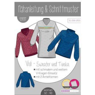 Schnittmuster - ki-ba-doo - Vivi - Sweater und Tunika