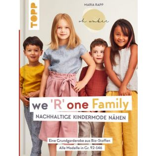 Buch - we `R` one Family - Nachhaltige Kindermode nähen