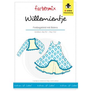 Schnittmuster - Farbenmix - Willemientje - Kleid mit Bolero - Kids