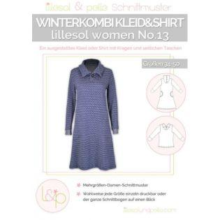Schnittmuster - Lillesol & Pelle - Lilleso Women No.13 - Kleid+Shirt