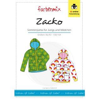 Schnittmuster - Farbenmix - Zacko - Sommerparka - Kids