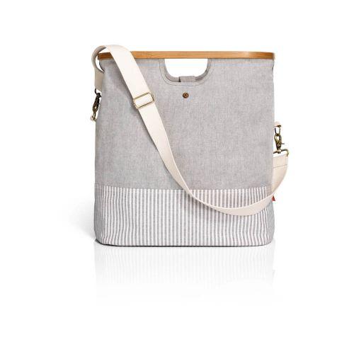 """Prym - Store & Travel Bags """"Canvas & Bamboo"""" - Größe S - grau"""