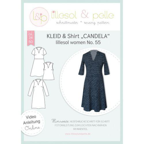 Schnittmuster - Lillesol & Pelle - Women - Kleid&Shirt Candela - No.55
