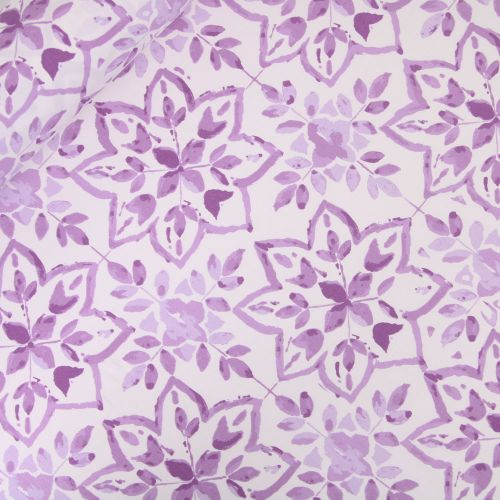 Dekostoff - Half Panama -  Fiore Viola