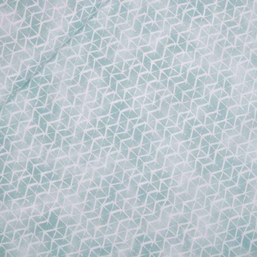 Baumwolle - Baby Boom - Geometrik - türkisgrün
