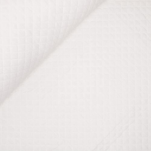 Musselin - Stepper - weiß
