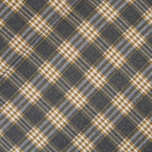 Jacquard - Baumwolle - Karo - gelb