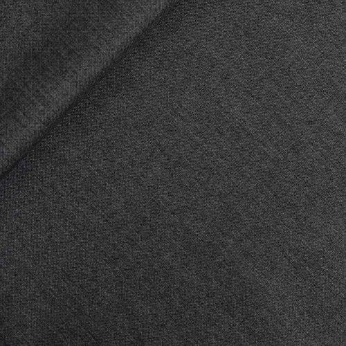 Oxford - Taschenstoff - dunkelgrau-meliert