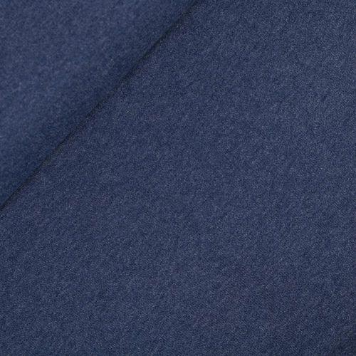 Feinstrick - gerippt - blau