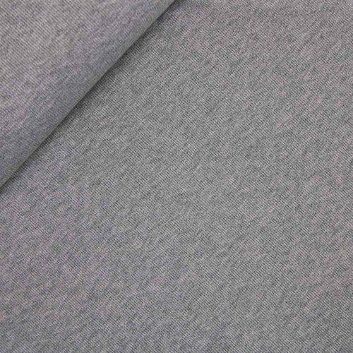 Feinstrick - gerippt - grau
