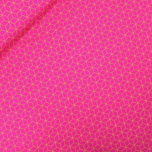 Hamburger Liebe - Sakura - Asanoha - Baumwolljersey - pink