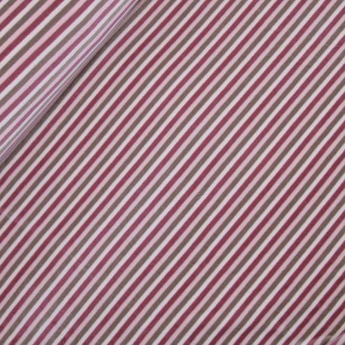 Little Darling - Baumwollnicki - Streifen - rosa-beige