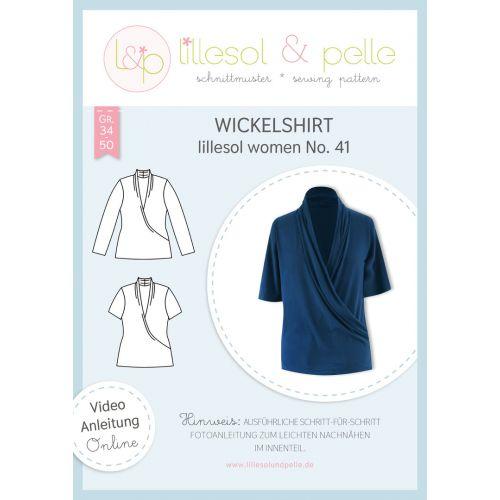 Schnittmuster - Lillesol & Pelle - Women - Wickelshirt - No.41