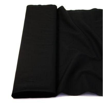 Baumwolle - Fahnentuch - uni - schwarz