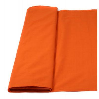 Baumwolle - Fahnentuch - uni - orange
