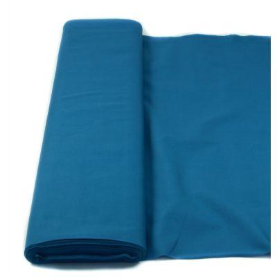 Baumwolle - Fahnentuch - uni - rauchblau